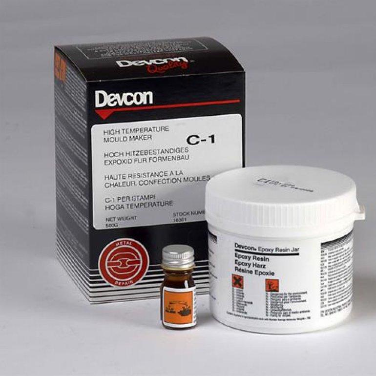 DEVCON  C1 (Yüksek Isı Kalıp epoksisi (260'C)
